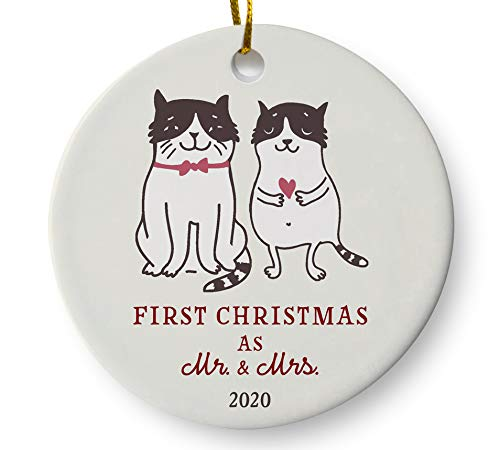 2020 Newlywed Christmas Ornament Amazon.com: First Christmas as Mr and Mrs 2020 Newlywed Christmas