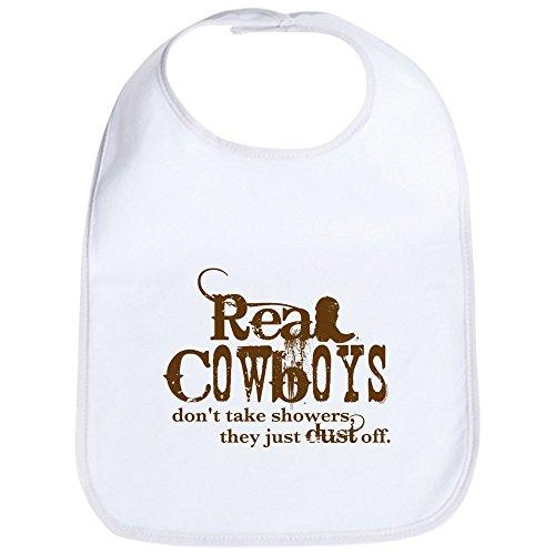 Old West Cowboy Clothing - CafePress - Real Cowboys Bib - Cute Cloth Baby Bib, Toddler Bib