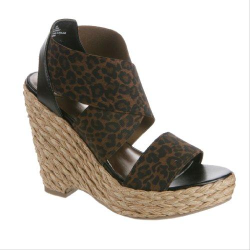Madeline Women's Rosalynn Platform Shoes,Cheetah,8.5 M US - Chalet Heels