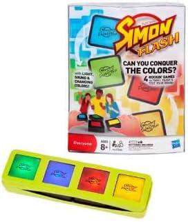 Hasbro Juegos Infantiles Simon Flash Bloques Electronicos 4 Formas De Juego 27-32730: Amazon.es: Juguetes y juegos
