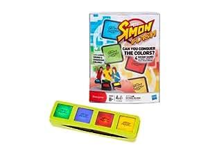 Juegos Infantiles Hasbro - Simon Flash Bloques Electronicos 4 Formas De Juego 27-32730
