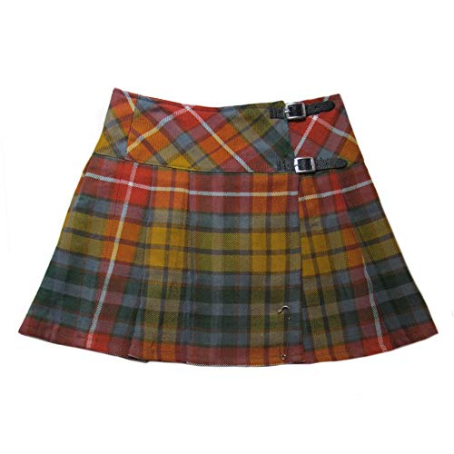 - Tartanista Womens 20 Inch Tartan Pleated Kilt Skirt Antique Buchanan 12 US