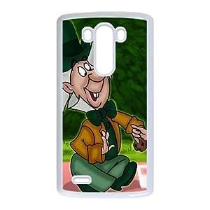 LG G3 Phone Ceses white Alice in Wonderland Mad Hatter BF854989