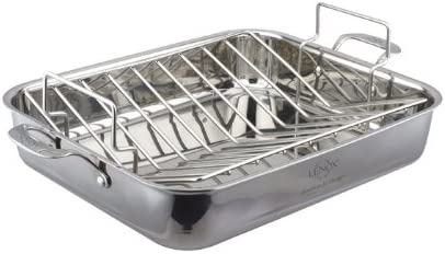 Lenox 16 3-Ply Roaster Pan with Rack