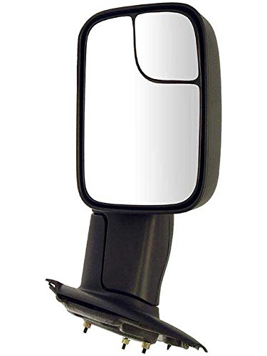 (APDTY 066503 Side View Mirror Assembly LH (Driver Side Left) Fits 2002-2005 Dodge Ram 1500 Or 2003-2005 Dodge Ram 2500 & 3500 (Replaces 55077493AG, 55077493AN))