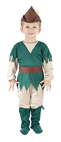 Bristol Novelty Robin Hood Toddler Costume Age 2 -3 Years ()