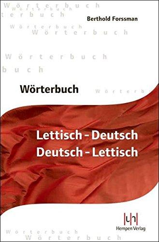 Wörterbuch Lettisch-Deutsch / Deutsch-Lettisch