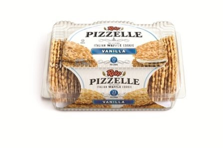Reko Pizzelle Italian Waffle Cookie Vanilla - 20oz (Kosher)