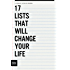 17 Lists That Will Change Your Life