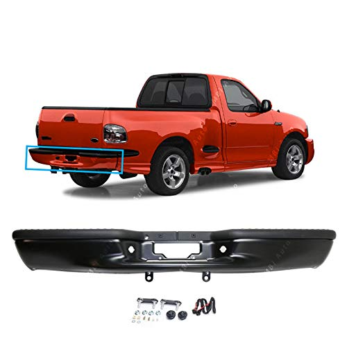 - MBI AUTO - Primered, Rear Step Bumper Assembly for 1997-2003 Ford F150 Lightduty Pickup, FO1103104