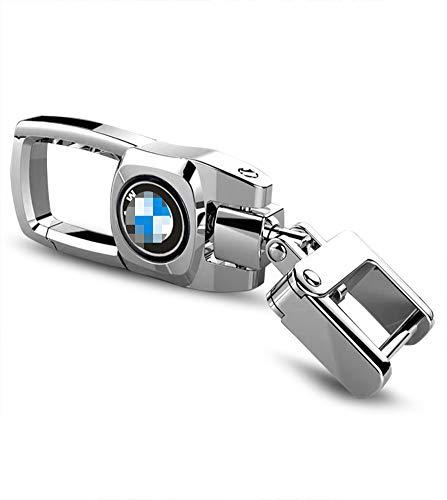 Feeke Car Keychain for BMW Flip Heavy Duty Key Chain for Women Men