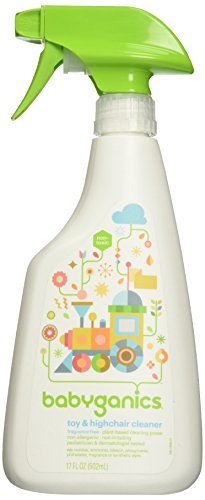 Price comparison product image BabyGanics The Cleaner Upper Toy & Highchair Cleaner - Fragrance Free - 17 oz