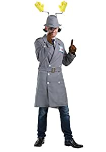 Inspector Gadget Plus Size Men's Fancy dress costume 2X
