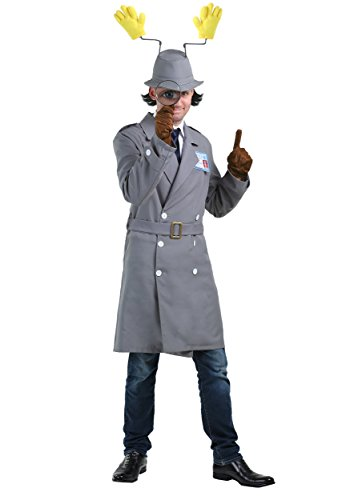 Inspector Gadget Plus Size Mens Costume 3X Gray