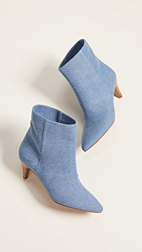 Deedee Vita Mujer azul de Mezclilla Dolce Botas Tobillo CdqnwdPx