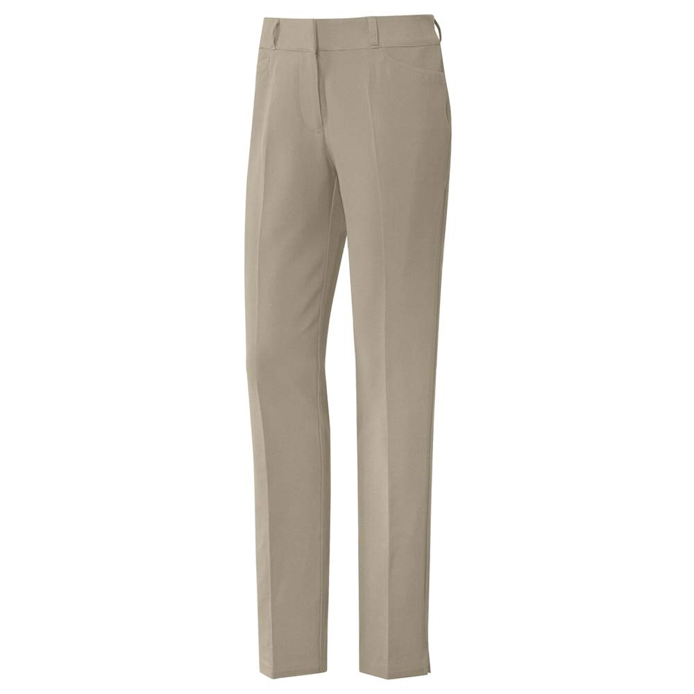 adidas Golf Full Length Pant, Trace Khaki, 8 by adidas