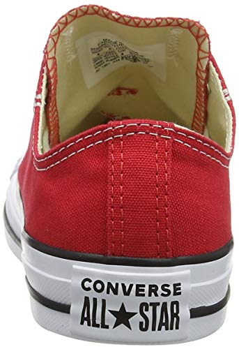 Baskets Red Adulte Rouge Chuck Basses Star Taylor Converse All Ox Mixte qYwIgzO