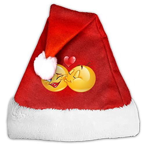 - Kids Adults Christmas Hat Kiss Smiley Santa Claus Reindeer Snowman Xmas Gifts Cap