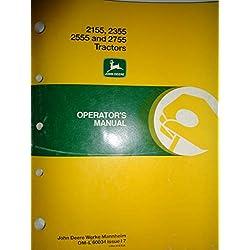 John Deere 2155 2355 2555 2755 Tractor Operators M