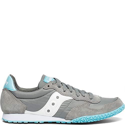 Saucony Originals Women's Bullet Sneaker, Wild Dove/Blue, 8.5 M US