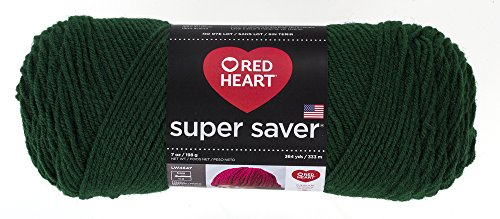 Red Heart Super Saver Yarn, Hunter Green ()