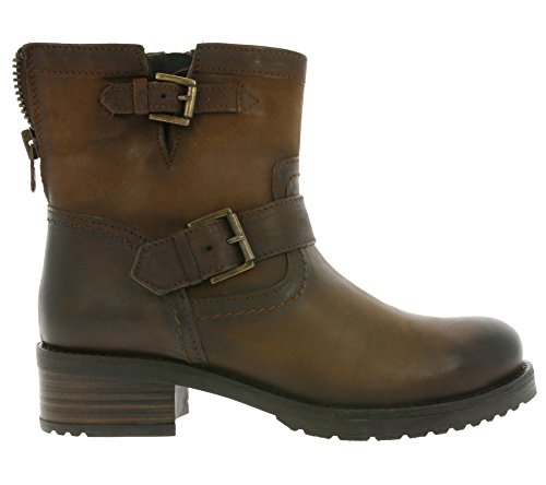 black Boots shoes robust 30509 Boots Leather brandy Buffalo Braun Short Leather xIUw88