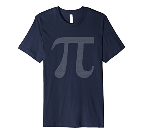 Men's Pi Day Numbers March 14 Cool Science Math Graphic T-Shirt XL Navy