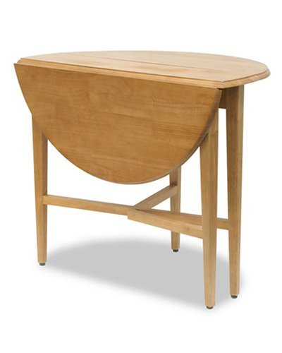 - Modern Lines Drop Leaf Table 42 Inch Diameter