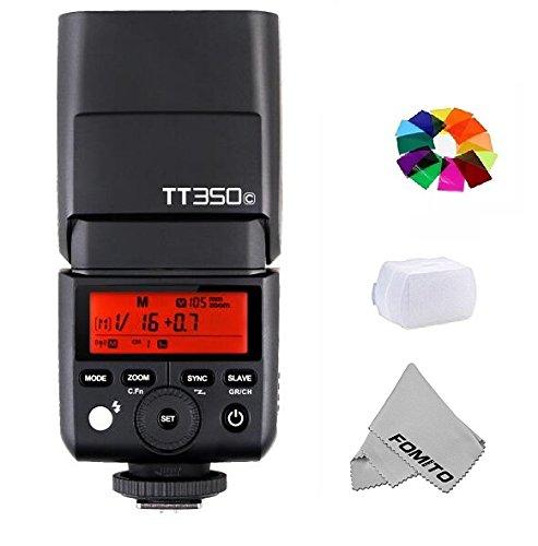 Fomito GODOX TT350C TTL Miniカメラフラッシュ ガイドナンバー36 内蔵2 4G TTLオートフラッシュ Canon カメラ 5D Mark III 80D 7D 760D 60D 600D 30D 100D 1100D Digital X等機種対応の商品画像
