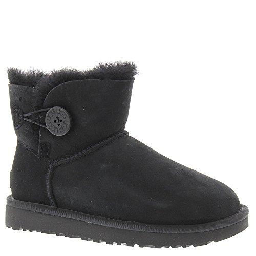 - UGG Women's Mini Bailey Button II Winter Boot, Black, 10 B US