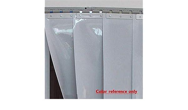 Aliaoforz Plástico PVC 200X18X0.19cm Franja Transparente Cortina ...