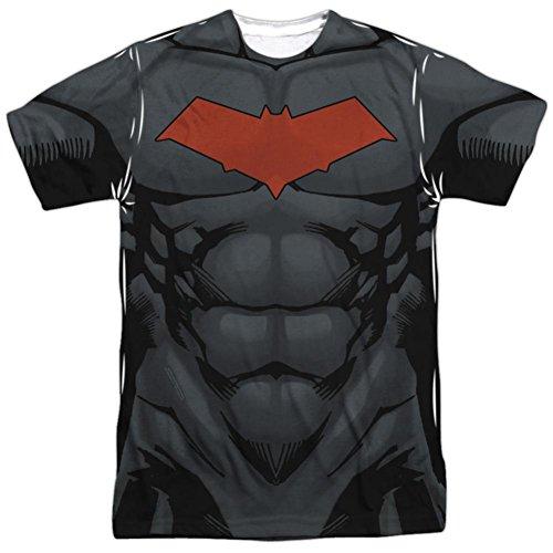 Batman- Red Hood Logo Costume Tee T-Shirt Size S ()