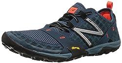 New Balance Men's Mt10v1 Minimus Trail Running Shoe, Greyorange, 11 2e Us
