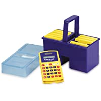 Learning Resources Caddy with 10 Basic Calc-U-Vues