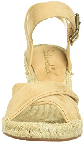 Splendid Women's Fairfax Espadrille Wedge Sandal Nude UZPCI1CCX1