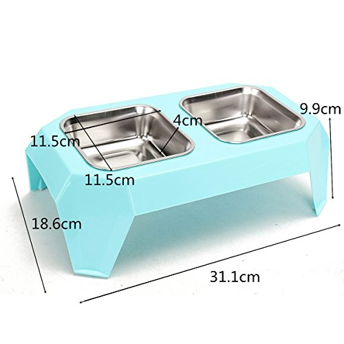 pet-feeder-dog-tray-stainless-steel-double-bowl-leak-proof-for-cats-dogs-eating-food-and-drinking-wa