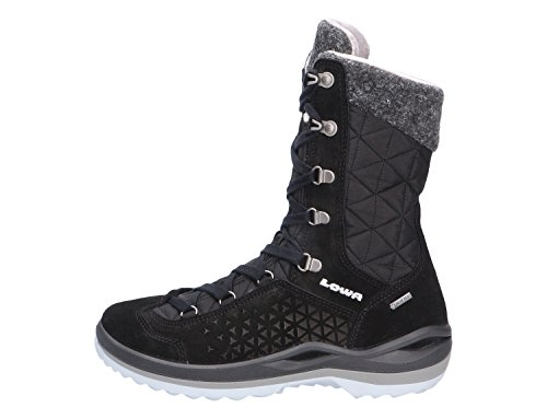 Lowa Barina II GTX WS, Chaussures de Randonnée Hautes Femme Noir (Nero 0999)