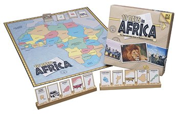 board game 10 days in africa - 4