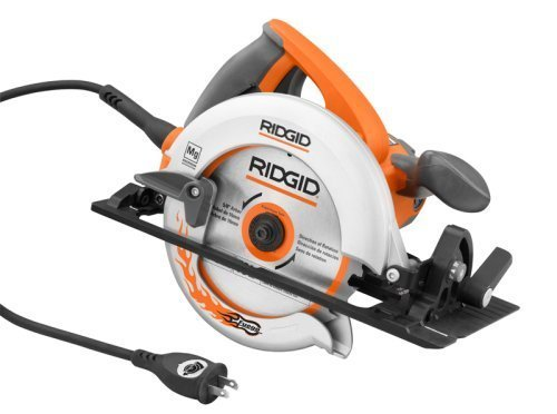 Ridgid ZRR3204 12-Amp 6-1/2 in. Magnesium Compact Framing Circular Saw (Certified Refurbished)