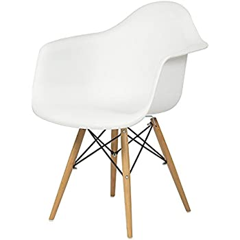 Lovely Best Choice Products Eames Style Armchair Mid Century Modern Molded Plastic  Shell Arm Chair