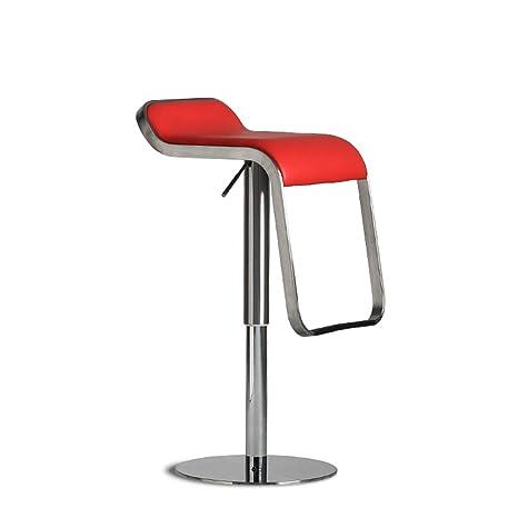 Swell Amazon Com Lklxj Bar Chair 3600Swivel Bar High Chair Red Alphanode Cool Chair Designs And Ideas Alphanodeonline