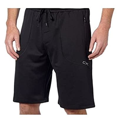 Men's Performance Shorts-Black Zipper Pockets