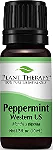 Plant Therapy Peppermint Western U.S. Essential Oil 10 mL (1/3 oz) 100% Pure, Undiluted, Therapeutic Grade