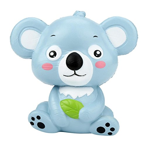 HANYI Stress Relief Toys For Kids With Adhd, Squeeze-Therapy-Sensory-Squishy-Educational (Gray Koala)