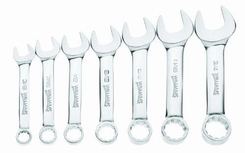 williams-11030-7-piece-stubby-combination-wrench-set