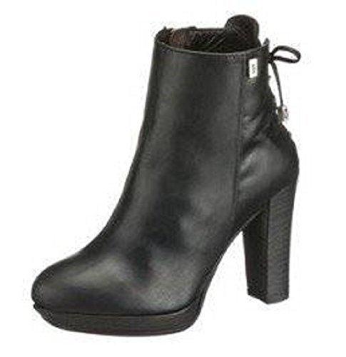 Noir cuir Cinque noir D'équitation Bottines xRRnFI