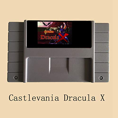 BrotheWiz Castlevania Dracula X 16 Bit Super Game Card For 46 Pin Game Player PAL