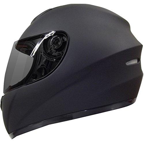 Leopard LEO-819 Full Face Motorbike Motorcycle Helmet Road Legal + Free...