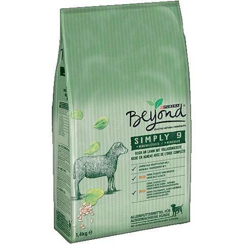 Purina Beyond Simply 9 Lamm   1,4kg Hundefutter trocken