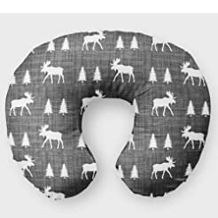 Moose Nursing Pillow Slipcover Woodland ...